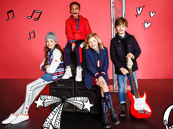 TOMMY HILFIGER KIDS<br> '17F/W NEW ARRIVALS