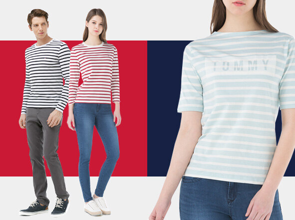 TOMMY HILFIGER DENIM<br> VACANCE COUPLE LOOK<br> 더블포인트 적립 or 즉시사용