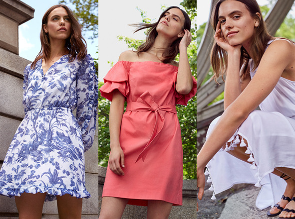 CLUB MONACO WOMEN<br> Summer and Dress
