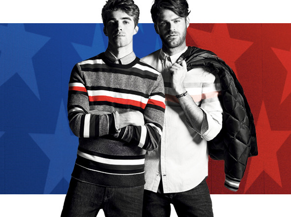 TOMMY HILFIGER<br> ▶ MEN'S SHOP