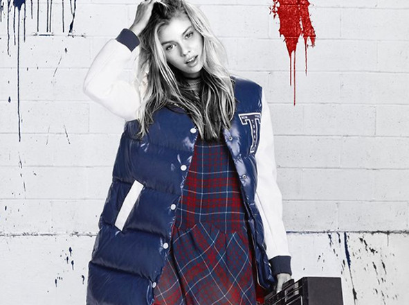 TOMMY HILFIGER DENIM<br> Your new best trend: Tartan
