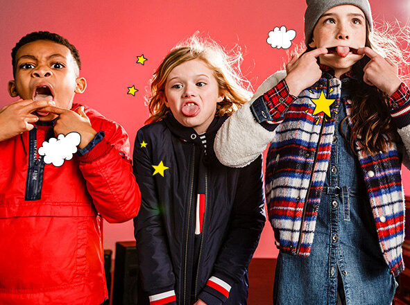 TOMMY HILFIGER KIDS<br> HAPPY NEW SALE<br> UP TO 37% OFF + 쿠폰