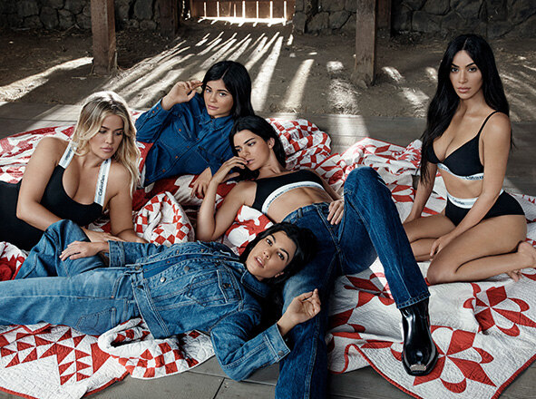 CALVIN KLEIN JEANS <br> OUR FAMILY. #MYCALVINS