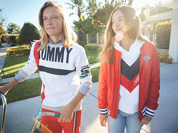 TOMMY HILFIGER KIDS<br> BACK TO SCHOOL!