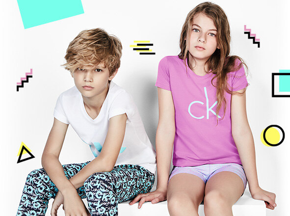 CALVIN KLEIN UNDERWEAR<br> KIDS LAUNCHING