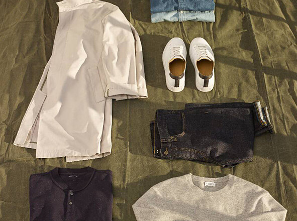 CLUB MONACO <br> THE ESSENTIALS SHOP