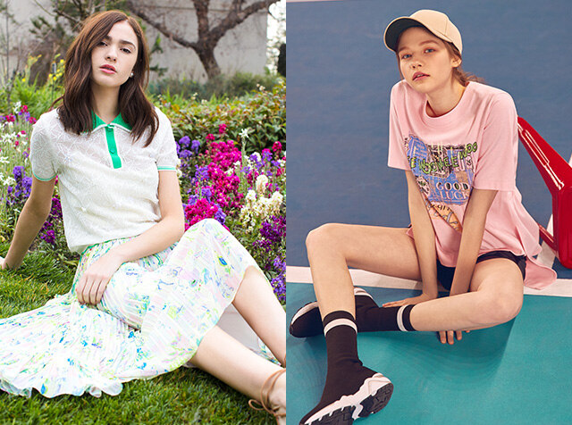 18S/S TOP & BOTTOM<br>더블포인트 적립 & up to 15%COUPON