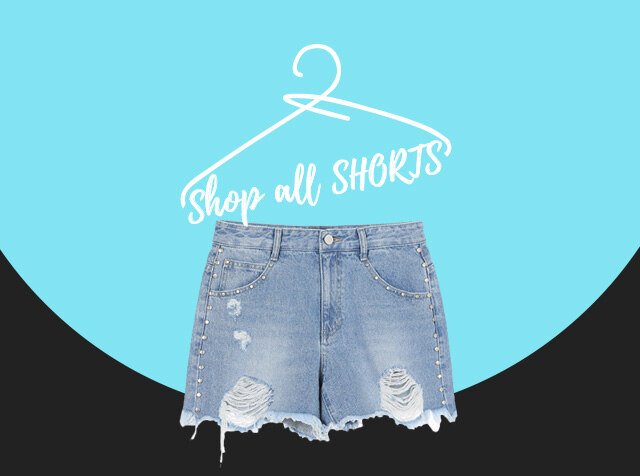 SUMMER PANTS<br>shop all S.H.O.R.T.S