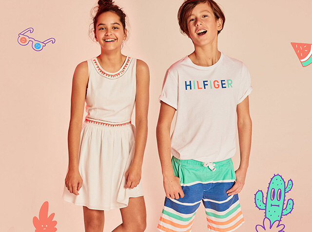 TOMMY HILFIGER KIDS<br> '18S/S SEASON OFF