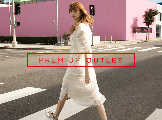 OUTLET<br> SUMMER season off up to 70% off