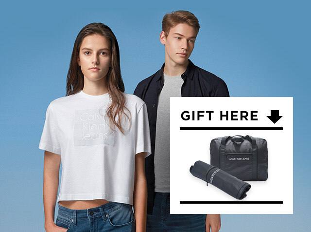 CALVIN KLEIN JEANS<br> SPECIAL GIFT<br> 15만원 이상 구매시 사은품 증정