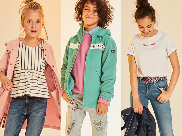 TOMMY HILFIGER KIDS<br> 18FW NEW ARRIVALS