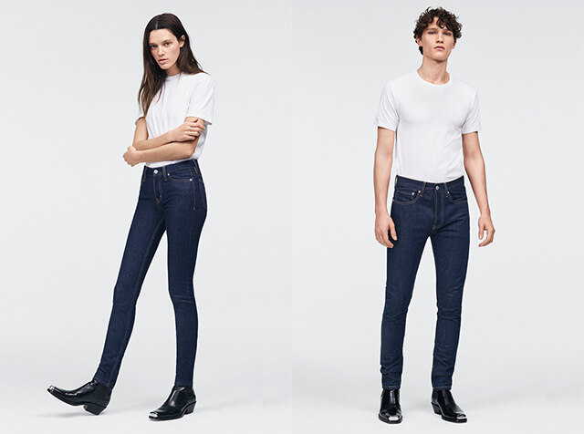 CALVIN KLEIN JEANS<br> THE DENIM INDEX
