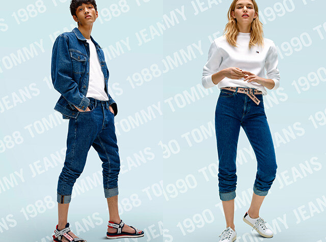 TOMMY JEANS<br> DENIM DAZE