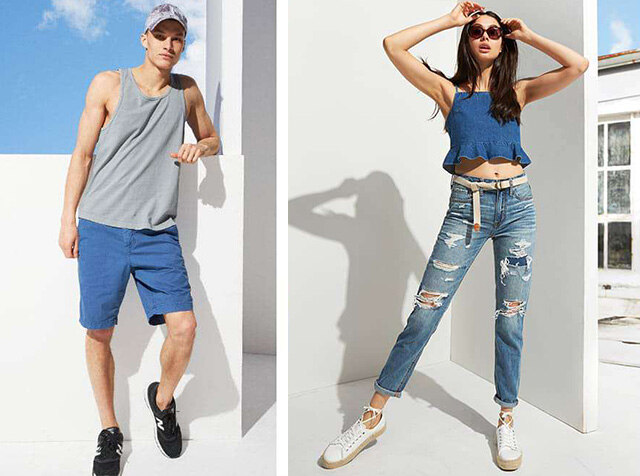 AMERICAN EAGLE OUTFITTERS<br>-5'C 낮춰주는 가벼운 데일리룩<br>UP TO 70% OFF