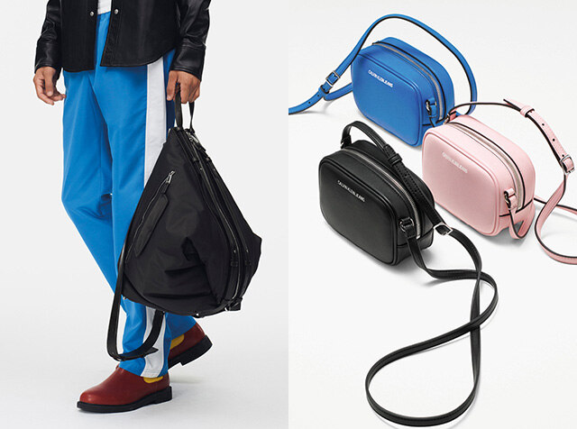 CALVIN KLEIN JEANS ACCESSORIES<br> NEW ESSENTIALS