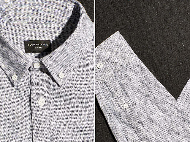 CLUB MONACO<br>The perfect button-down