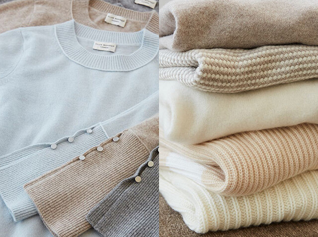 CLUB MONACO<br>cashmere new life