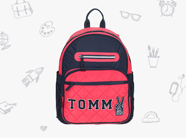 TOMMY HILFIGER KIDS<br> NEW SEASON<br> NEW BACKPACK
