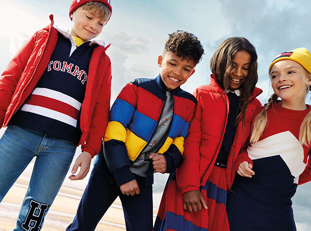 TOMMY HILFIGER KIDS<br> 18 FW SEASON OFF