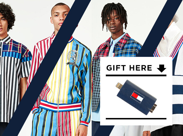 TOMMY HILFIGER MEN<br>19SS HILFIGER COLLECTION<br>구매 시, 선착순 50분께 USB 사은품 증정
