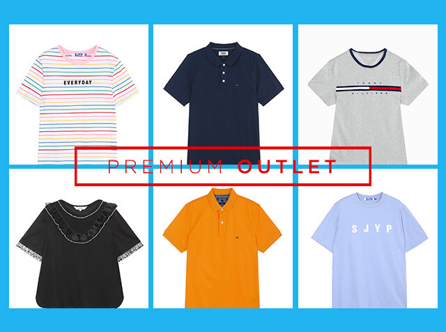 OUTLET<br> ALL THAT T-SHIRTS / 티셔츠 페스티벌