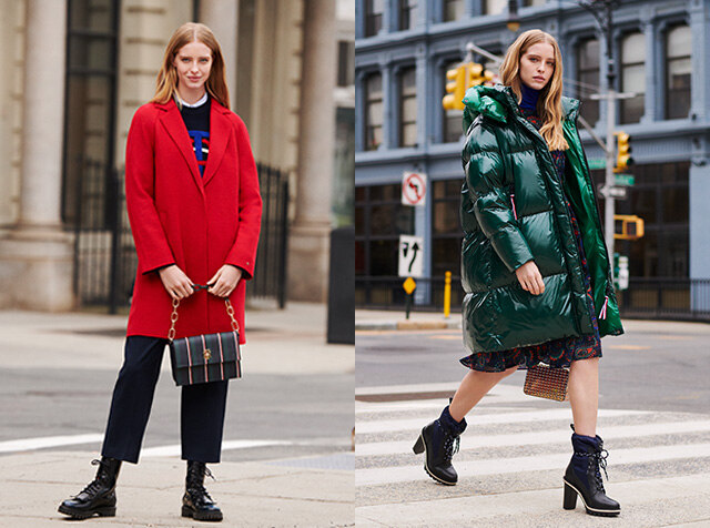 TOMMY HILFIGER WOMEN<br>19 FALL WINTER<br>OUTER COLLECTION