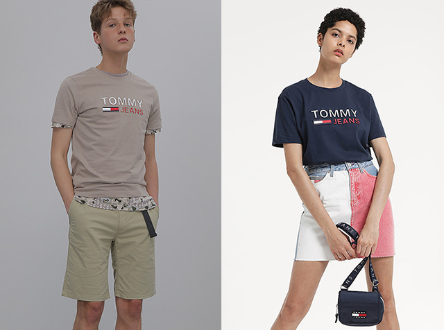 TOMMY JEANS<br>COUPLE OR SIMILAR?