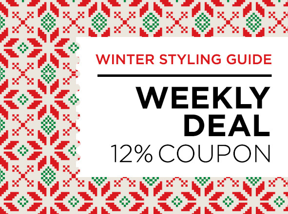 H패션 브랜드 통합전<br> Winter Styling Guide 12%COUPON