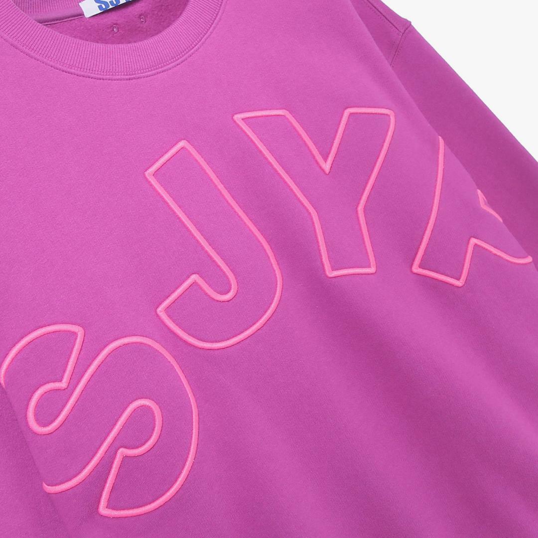 에스제이와이피(SJYP) 면 루즈핏 로고 티셔츠 PW1J9WTS039W PP