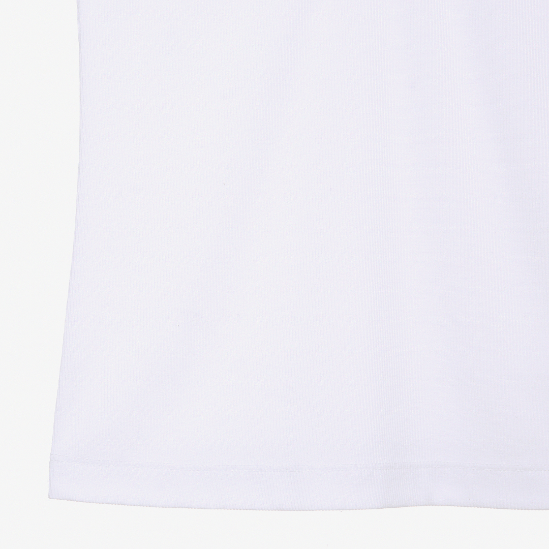 에스제이와이피(SJYP) 버튼 슬리브리스 티셔츠 PWMT1WX24900 001