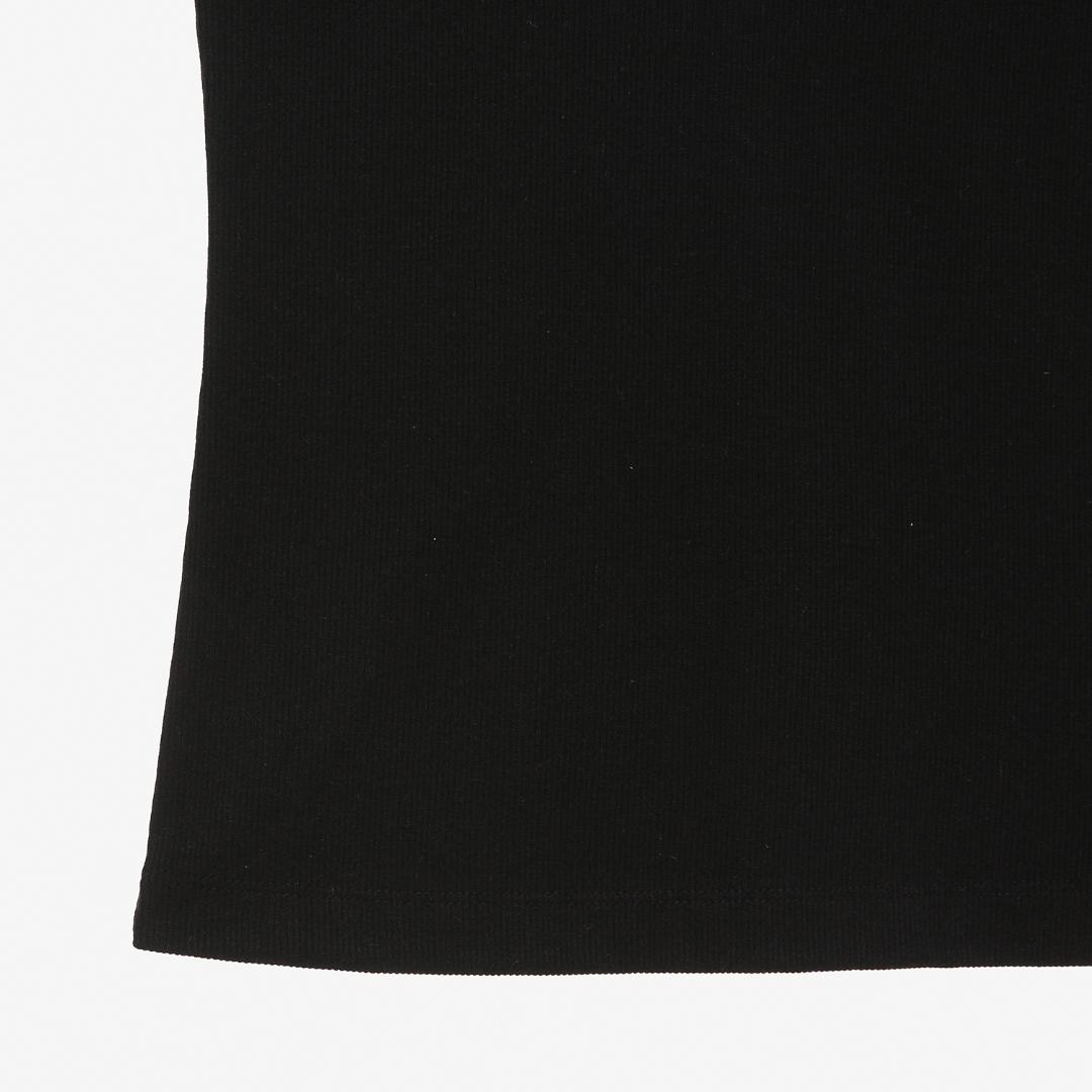 에스제이와이피(SJYP) 버튼 슬리브리스 티셔츠 PWMT1WX24900 090