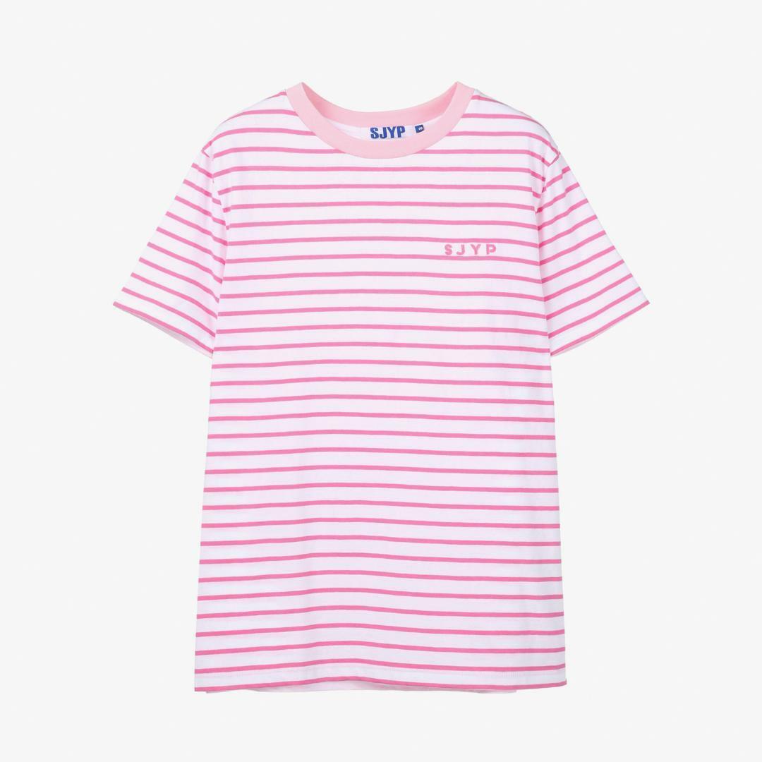 에스제이와이피(SJYP) 면 스트라이프 크루넥 티셔츠 PWMT2WX52900 071