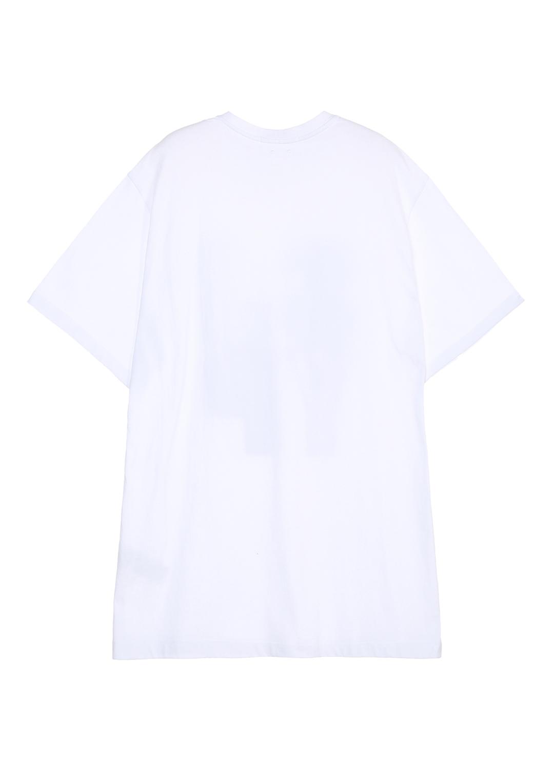 에스제이와이피(SJYP) [여성] 스트라이프 로고 반팔 티셔츠 PWMS1WX07900 001