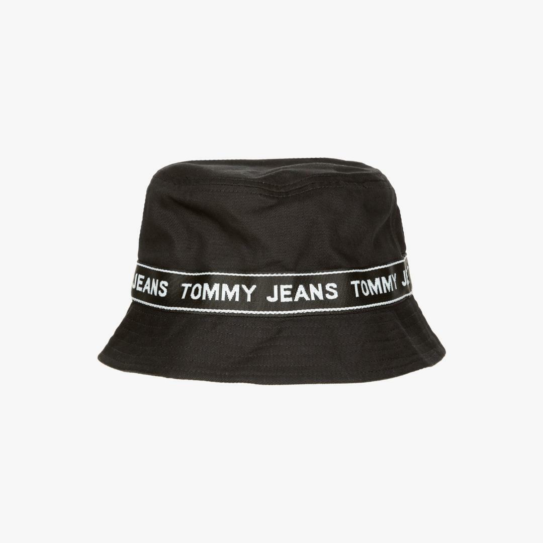 타미진스(TOMMY JEANS) [공용] 코튼 테이핑 버킷 햇 T31J6AHT039MT1 N90