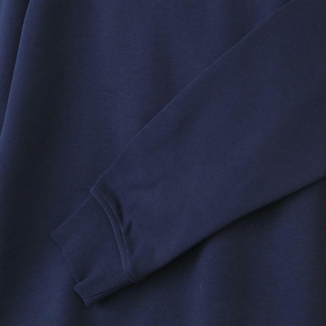 타미진스(TOMMY JEANS) [여성] 면혼방 베이직 로고자수 맨투맨 티셔츠 T31J6TTO021WT2 CBK