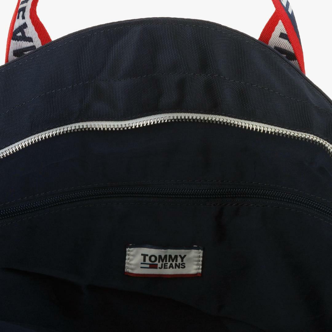타미진스(TOMMY JEANS) [공용] 폴리 스퀘어 테이핑 토트백 T31J7ABG048MT2 0KP
