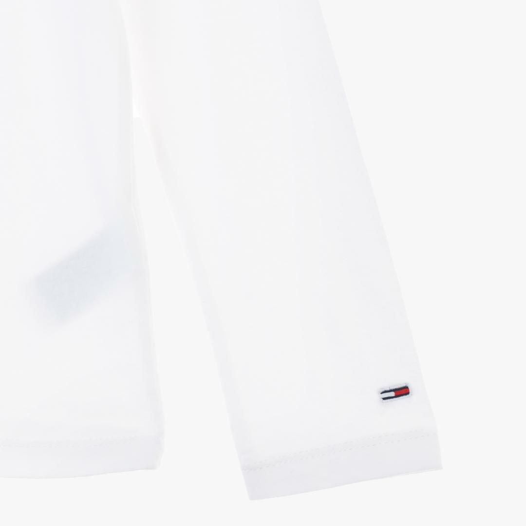 타미진스(TOMMY JEANS) [여성] 코튼 로고 긴소매 티셔츠 T31J7TTO024WT2 YA2