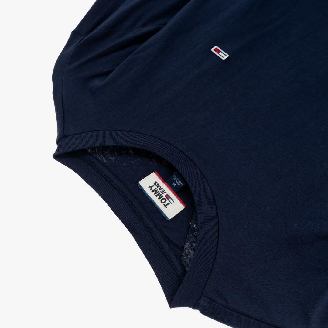 타미진스(TOMMY JEANS) [남성] 코튼 베이직 긴소매 티셔츠 T31J7TTO053MT4 CBK