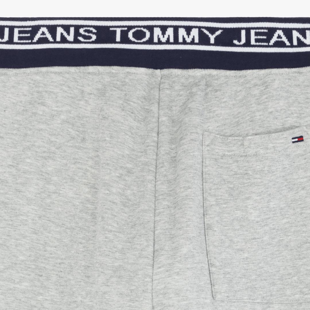 타미진스(TOMMY JEANS) [남성] 면혼방 로고밴딩 롱 스웨트 팬츠 TJMS3PPE45D0 N46