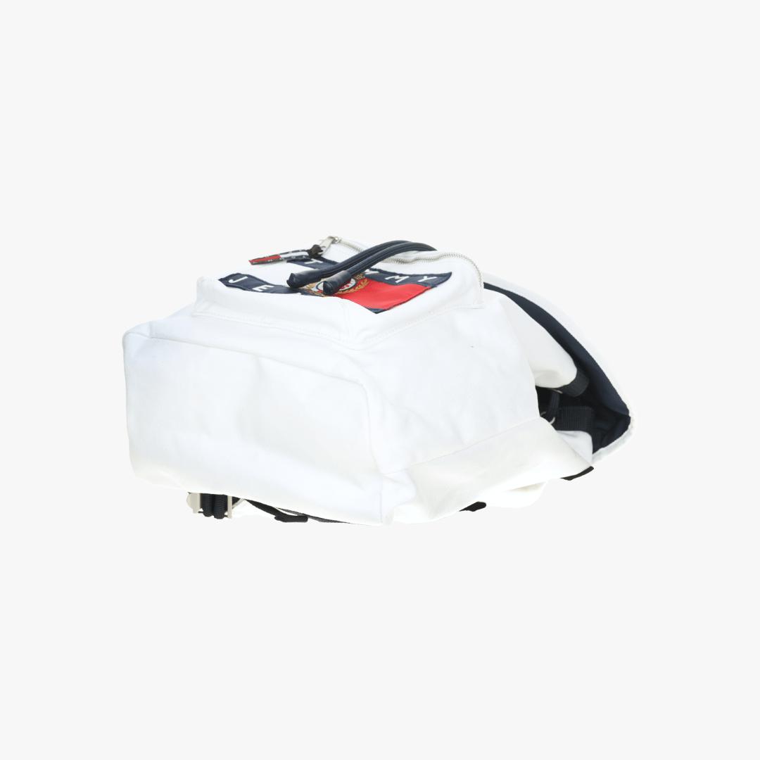 타미진스(TOMMY JEANS) [Crest Capsule] [공용] 데님 포켓 크레스트 플래그 백팩 TJMT1AAE91A0 W10