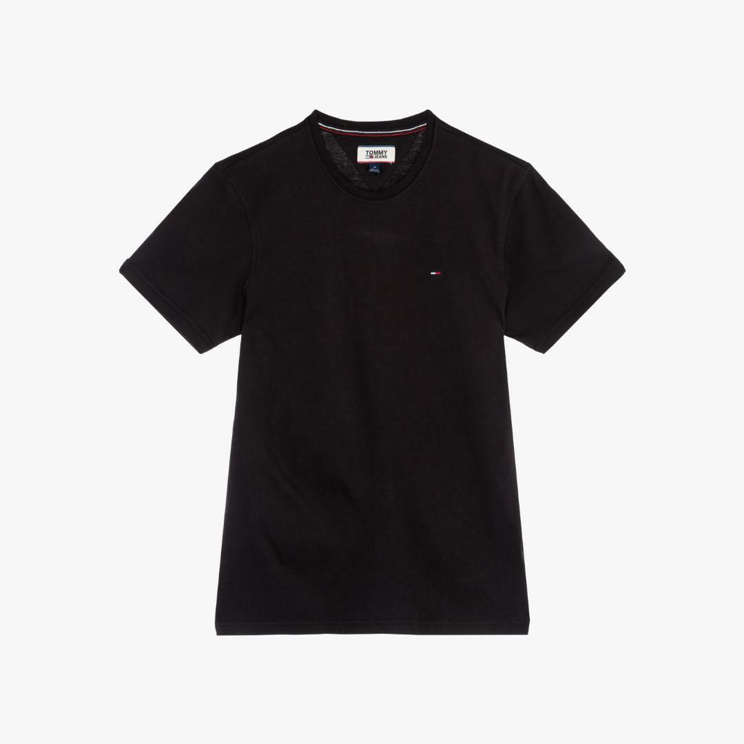 타미진스(TOMMY JEANS) [남성] 코튼 베이직 반소매 티셔츠 TJMT1KOE04D0 N90