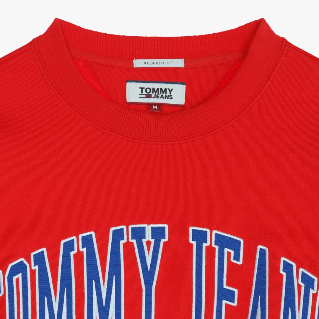 타미진스(TOMMY JEANS) [공용] 릴렉스핏 크루넥 티셔츠 TJMT1KOE41U0 R50