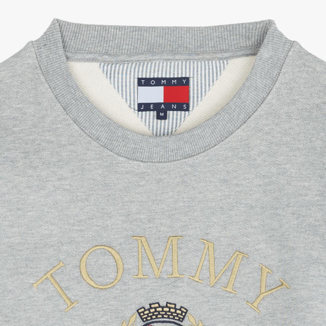 타미진스(TOMMY JEANS) [Crest Capsule] [남성] 코튼 크레스트 크루넥 티셔츠 TJMT1KOE93A0 N40