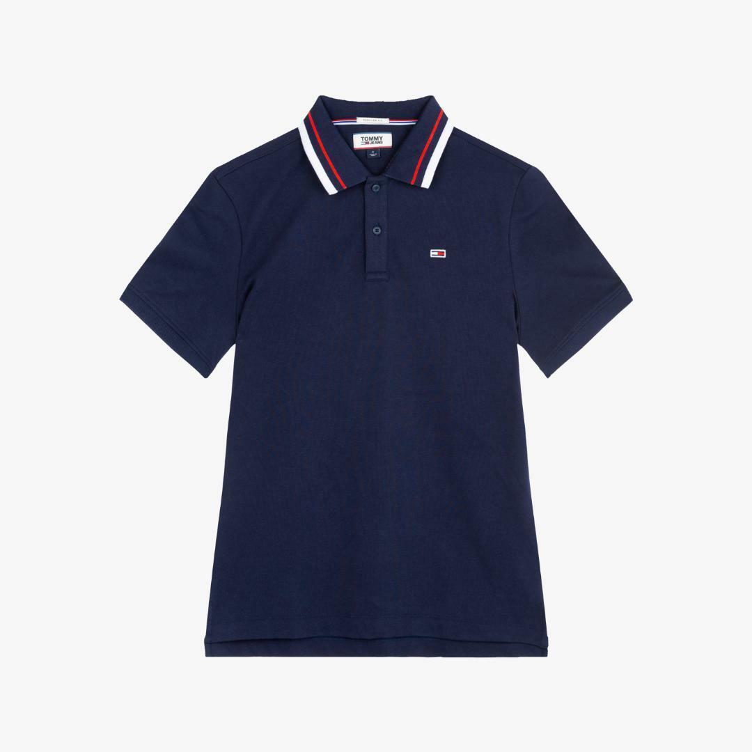 타미진스(TOMMY JEANS) [남성] 면혼방 베이직 폴로 티셔츠 TJMT2KTE02D0 B70