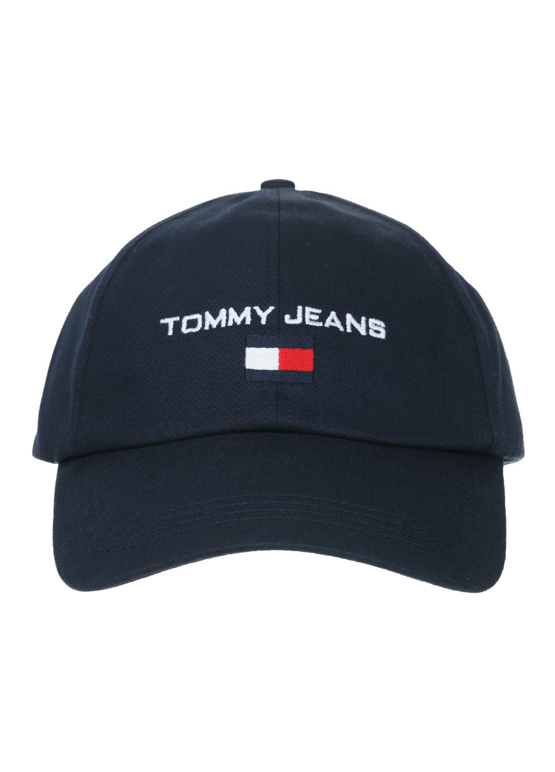타미 진(TOMMY JEANS) [공용] 면 솔리드 로고 플래그 자수 캡 TJMS3AHE97A0 B50