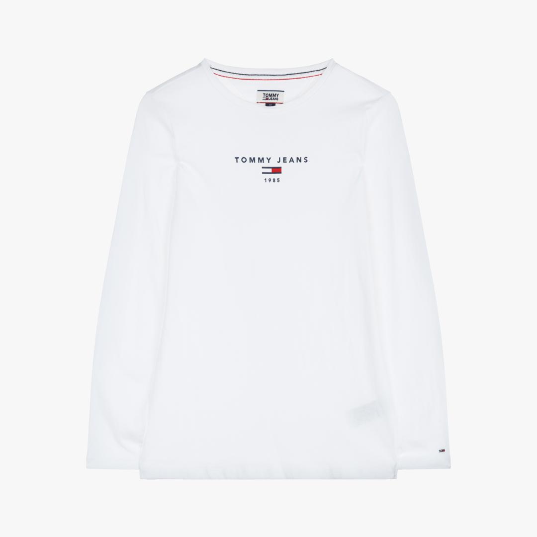 타미진스(TOMMY JEANS) [여성] 코튼 로고 긴소매 티셔츠 TUMS3KOE26D1 6D1