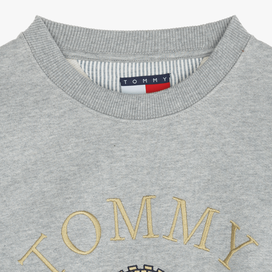 타미진스(TOMMY JEANS) [Crest Capsule] [여성] 코튼 크레스트 크루넥 티셔츠 TUMT1KOE93A0 N40