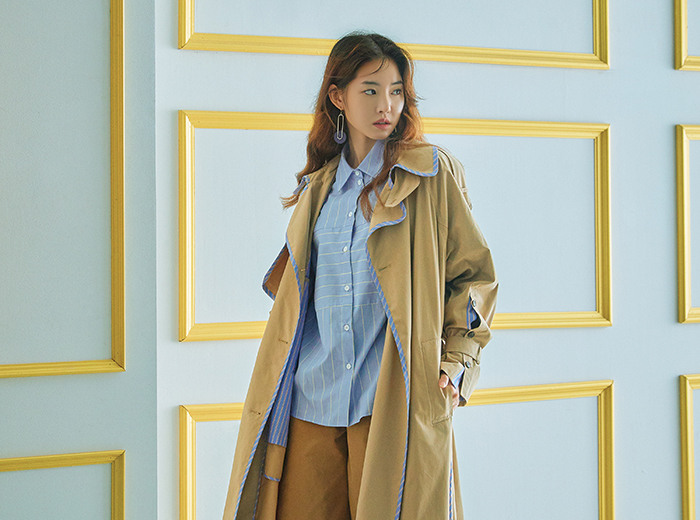Fall with TRENCH COAT