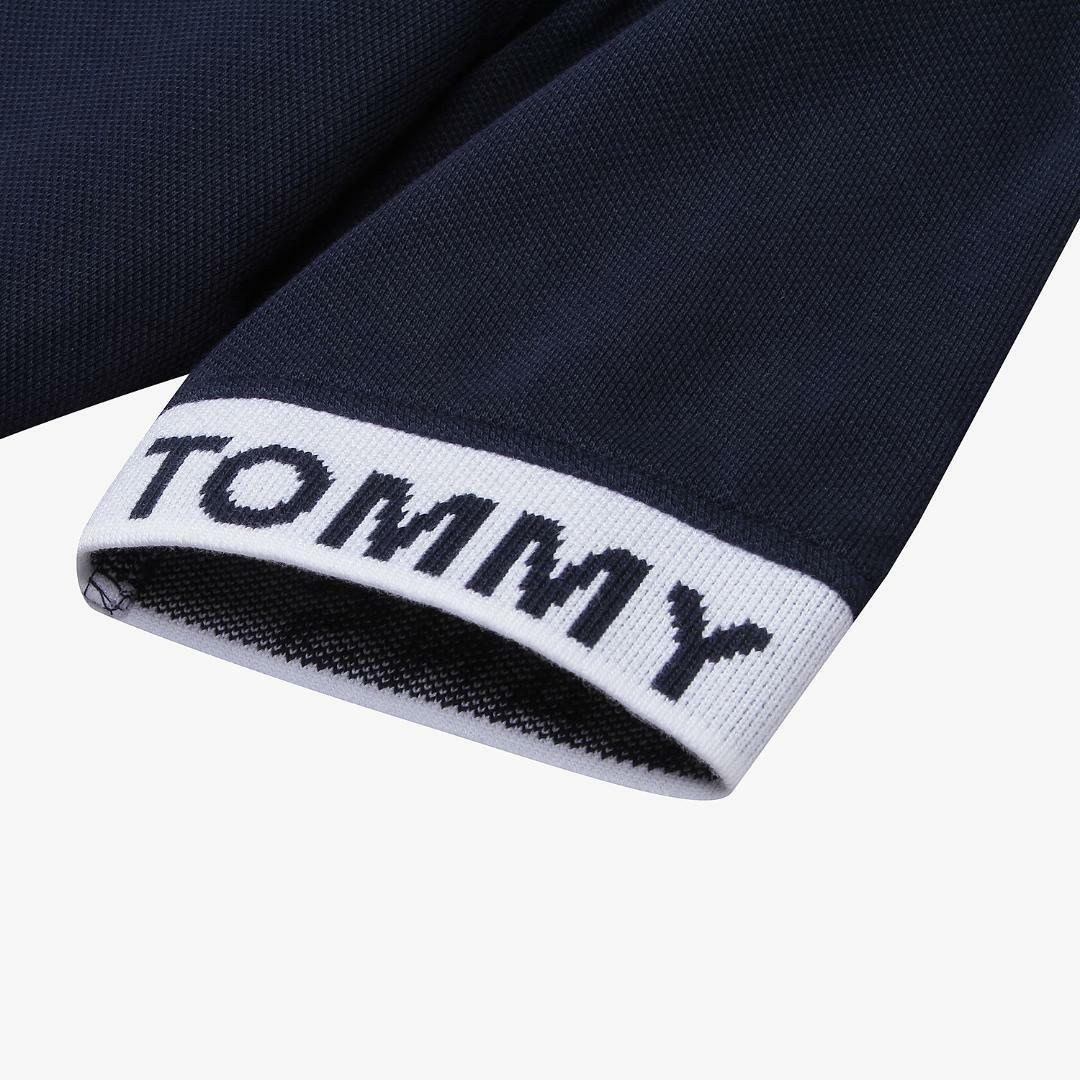 타미진스(TOMMY JEANS) [여성] 면혼방 플레어 플래그 반소매 원피스 T32A6WOP043WT2 C87